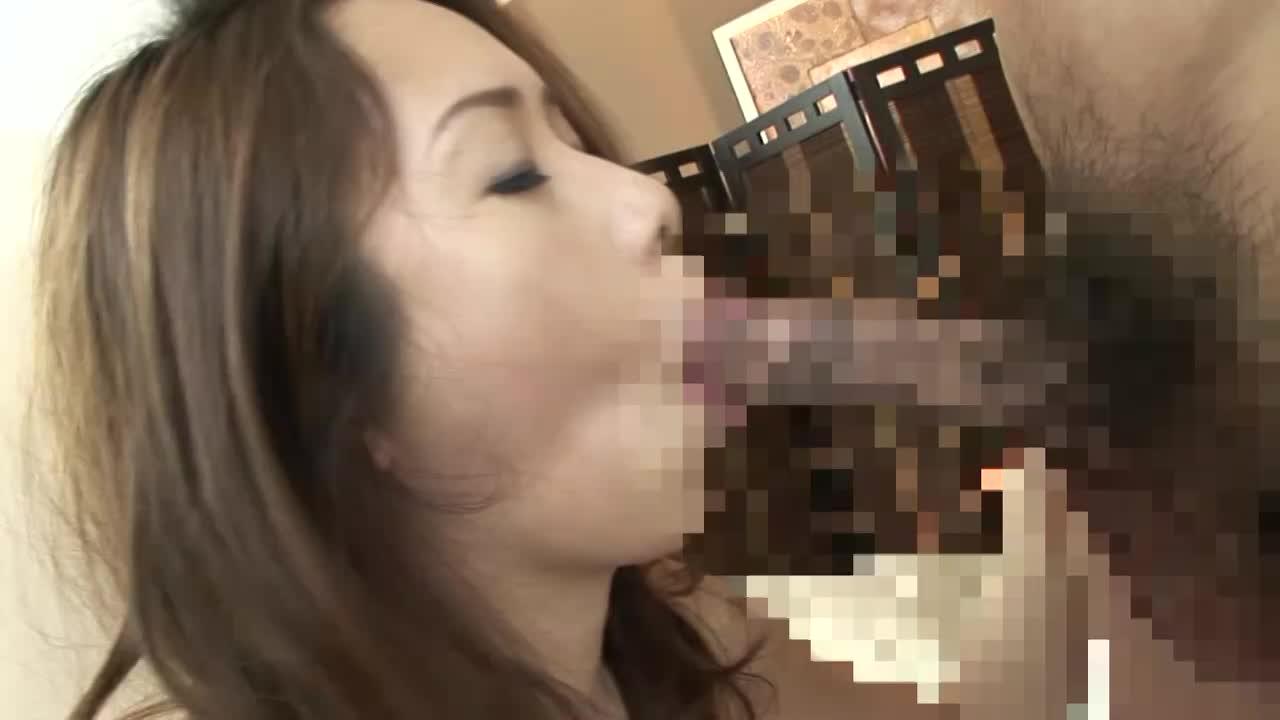 【立花かすみ】44 濃厚な舌技の後正常位バックで突かれまくり